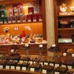 1. магазин шоколада